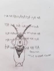 Plankton: the killing chum by saiyanpikachu