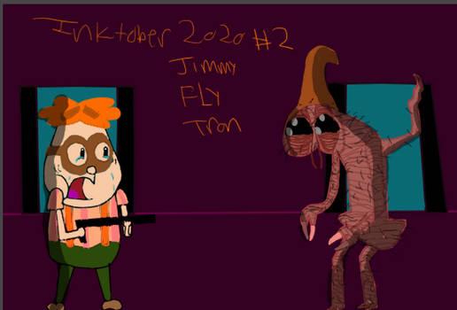 INKTOBER 2020 #2 Jimmy FLY-Tron