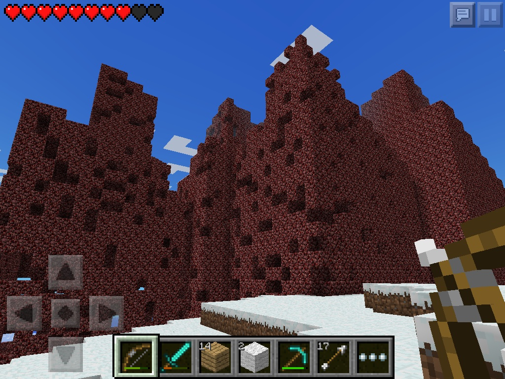 Behold! The nether temple! by bieber90pink