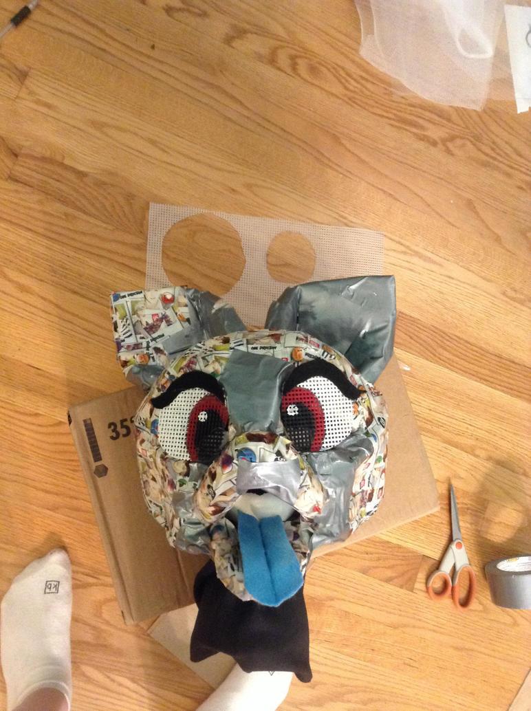 Progress on Taylor fursuit head by bieber90pink