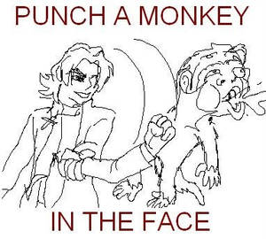 PUNCH A MONKEY IN THE FACE