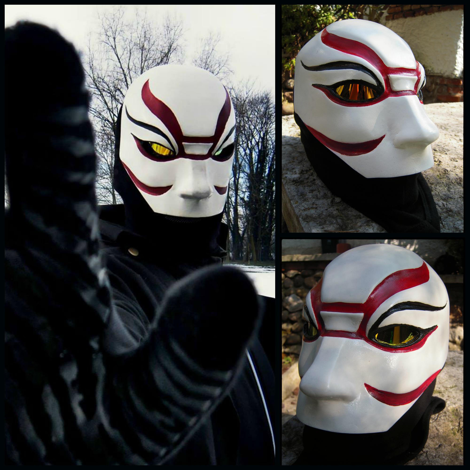 Yokai Kabuki Mask Big Hero 6 By Minimillart On Deviantart