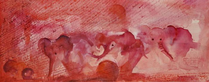 Dreamy Elephants 1