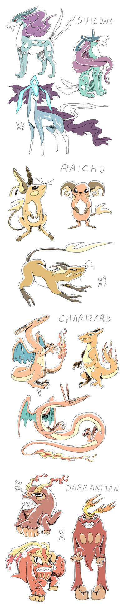 Pokemon Variants 6 by WendyMartin