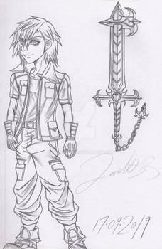 kingdom hearts spin-off idea,main Character