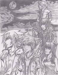 kingdom hearts III secret movie drawing