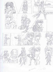 kingdom hearts 4, riku vs yozora storyboard.