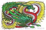 Quetzalcoatl by TheUniverseIsInsane