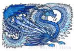 BlueDragon by TheUniverseIsInsane