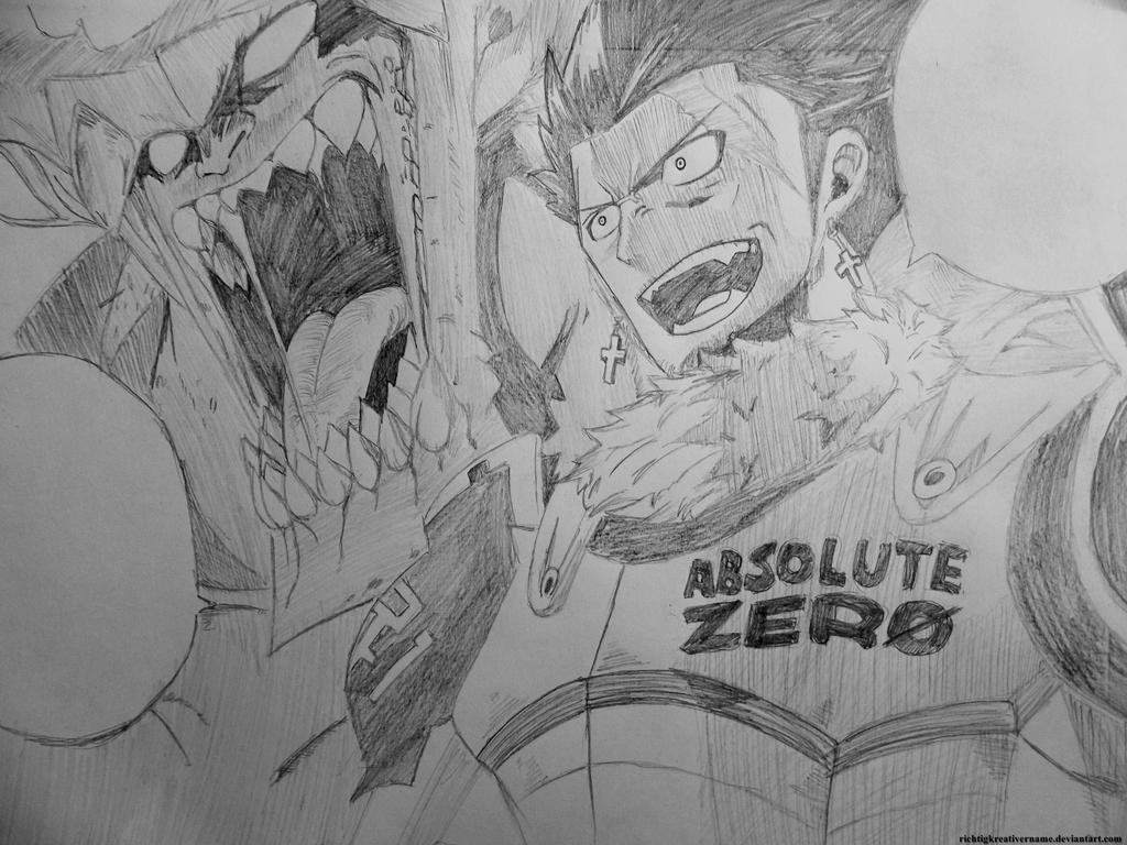 Gray And Silver Fullbuster