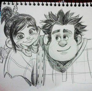 vanellope and ralph