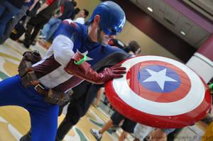 Captain America by UberAEst92