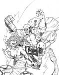 Hellboy vs Medusa