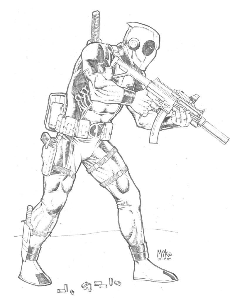 Deadpool by MikeDimayuga on DeviantArt