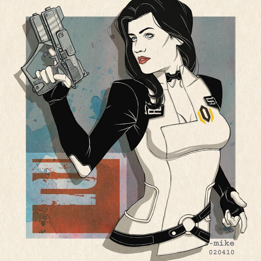 Mass Effect 2- Miranda