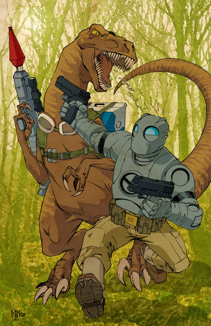 Atomic Robo by MikeDimayuga