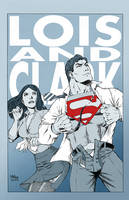 Lois and Clark by MikeDimayuga