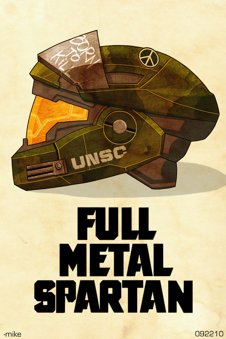 Full Metal Spartan by MikeDimayuga