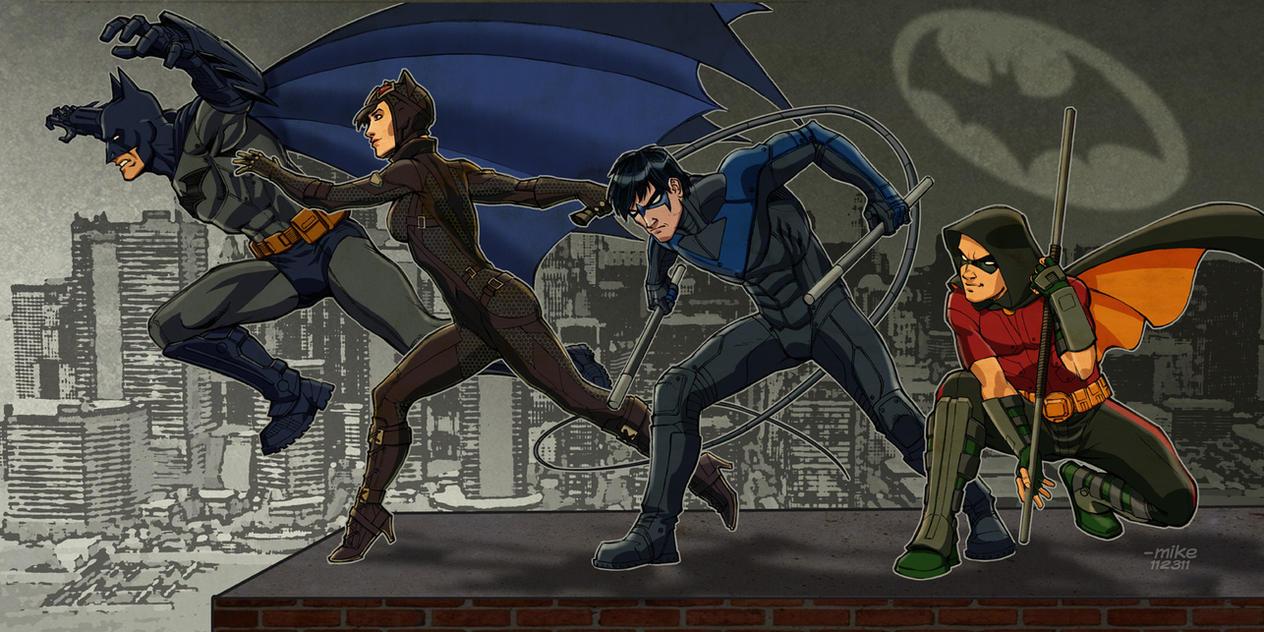 How To Draw Batman Arkham City