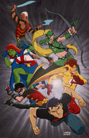Young Justice by MikeDimayuga