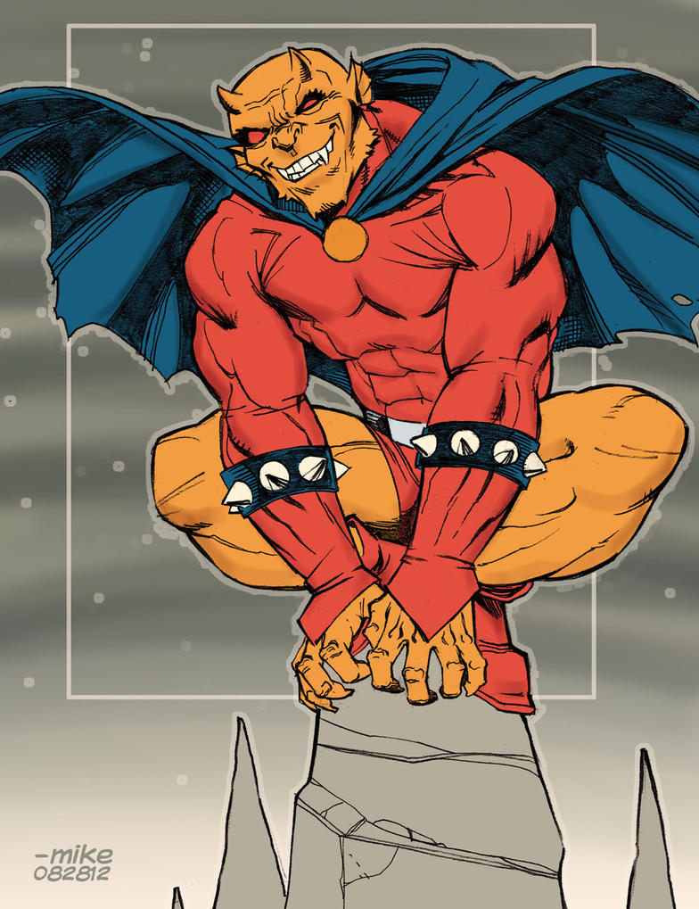 Etrigan The Demon by MikeDimayuga