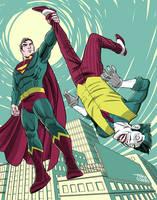 Superman and Joker by MikeDimayuga