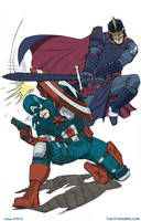 Avengers 363 by MikeDimayuga