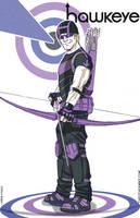 Hawkeye by MikeDimayuga