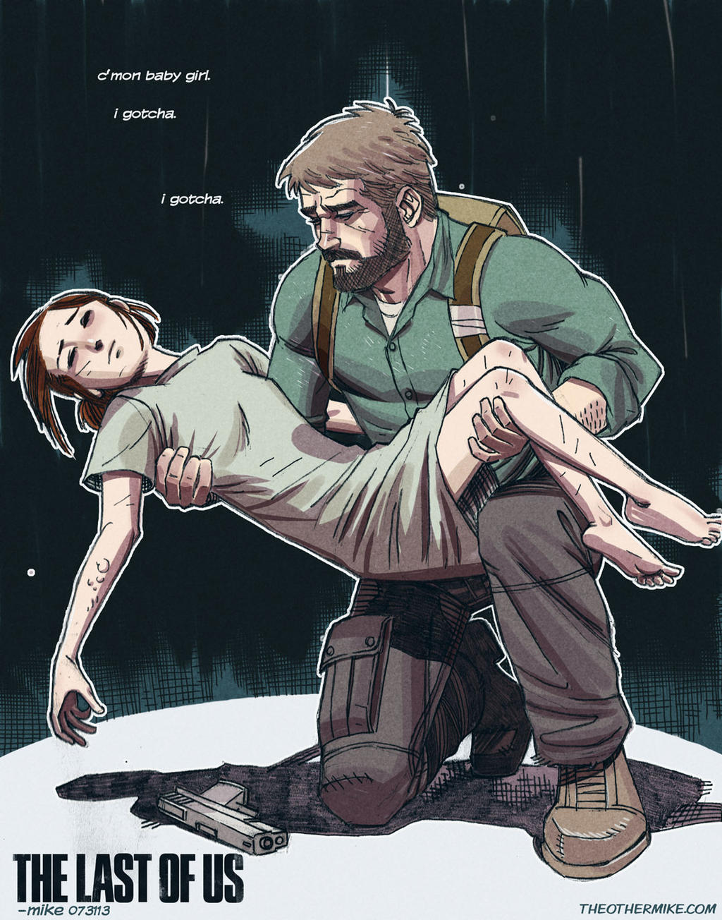 The Last Of Us- Winter by MikeDimayuga