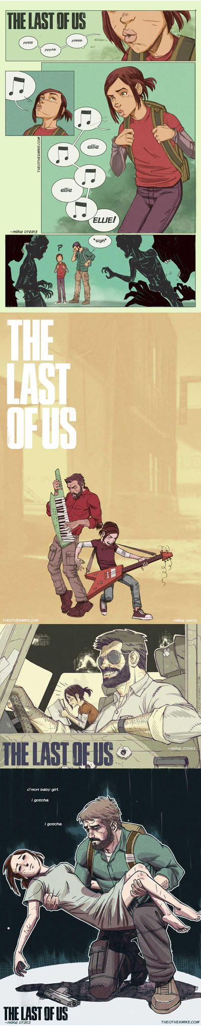 The Last Of Us- The Journey by MikeDimayuga