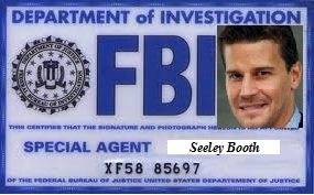 Seeley Booth Badge by EAT-MY-PAINTINGS