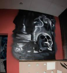Skulls and books