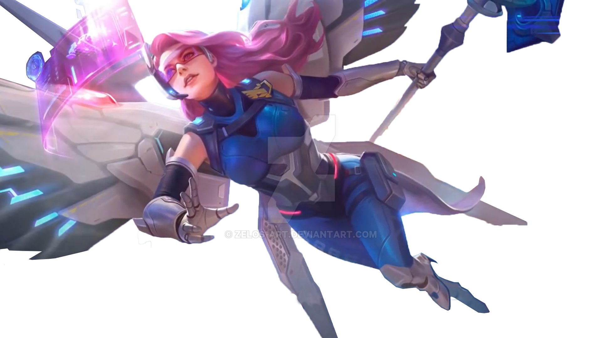 ... Rafaela Skin S.A.B.E.R Savior Transparent By Zelos Art
