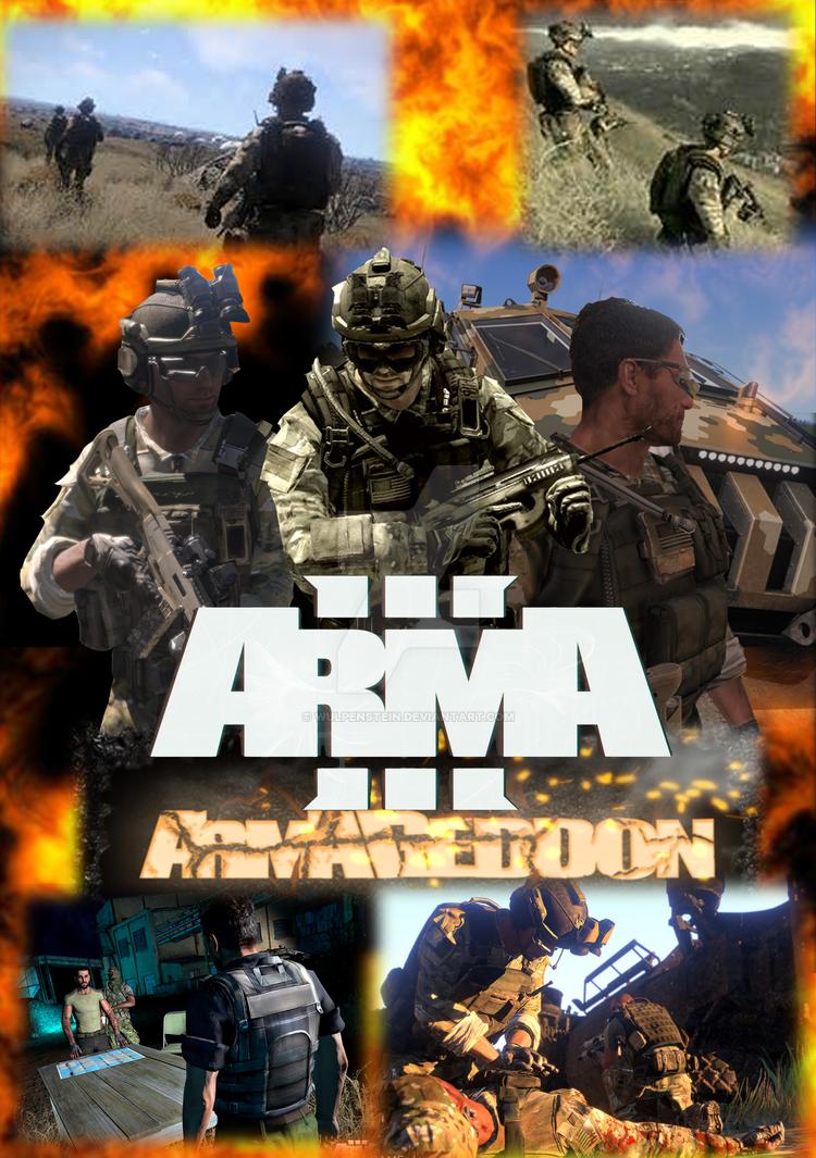 arma 3 armageddon movie poster by wulpenstein on deviantart