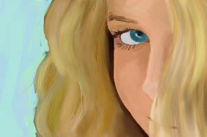 Little Girl by JonHoffmanArt