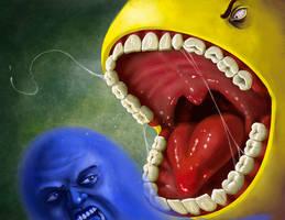 Pacman by JonHoffmanArt