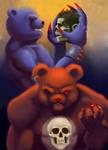 Care Bears Part II by JonHoffmanArt