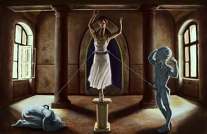 The Angel in the House by JonHoffmanArt