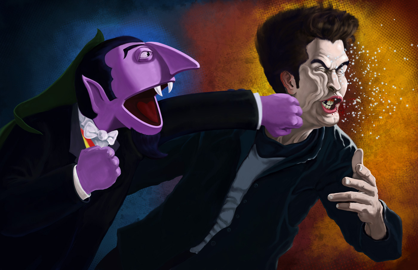 Rampaged Reality Count Von Count Drops A Beast Of A Punch