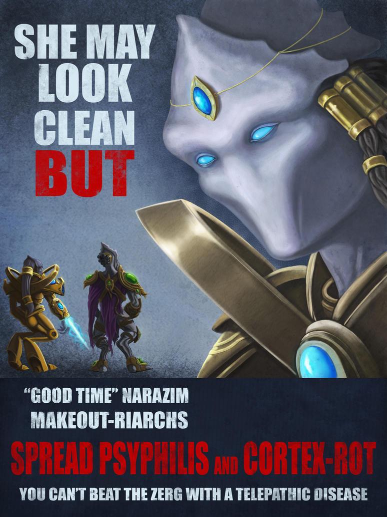 Starcraft Propaganda Poster by poopbear
