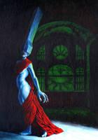 Priestess 2 by JonHoffmanArt