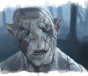 Azog by Ludugero