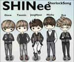 SHINee Sherlock Song by AyubFrenzy