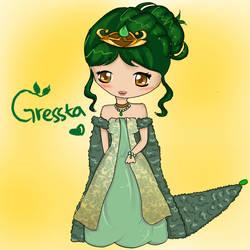 OC : Gressta by AyubFrenzy