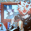 Tsuna Vs Mukuro Icon by Cerberus-93