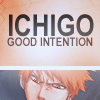 Ichigo Icon Good Intention by Cerberus-93