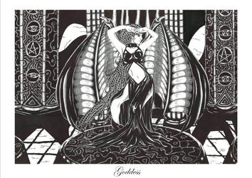 Goddess by FlippingCat