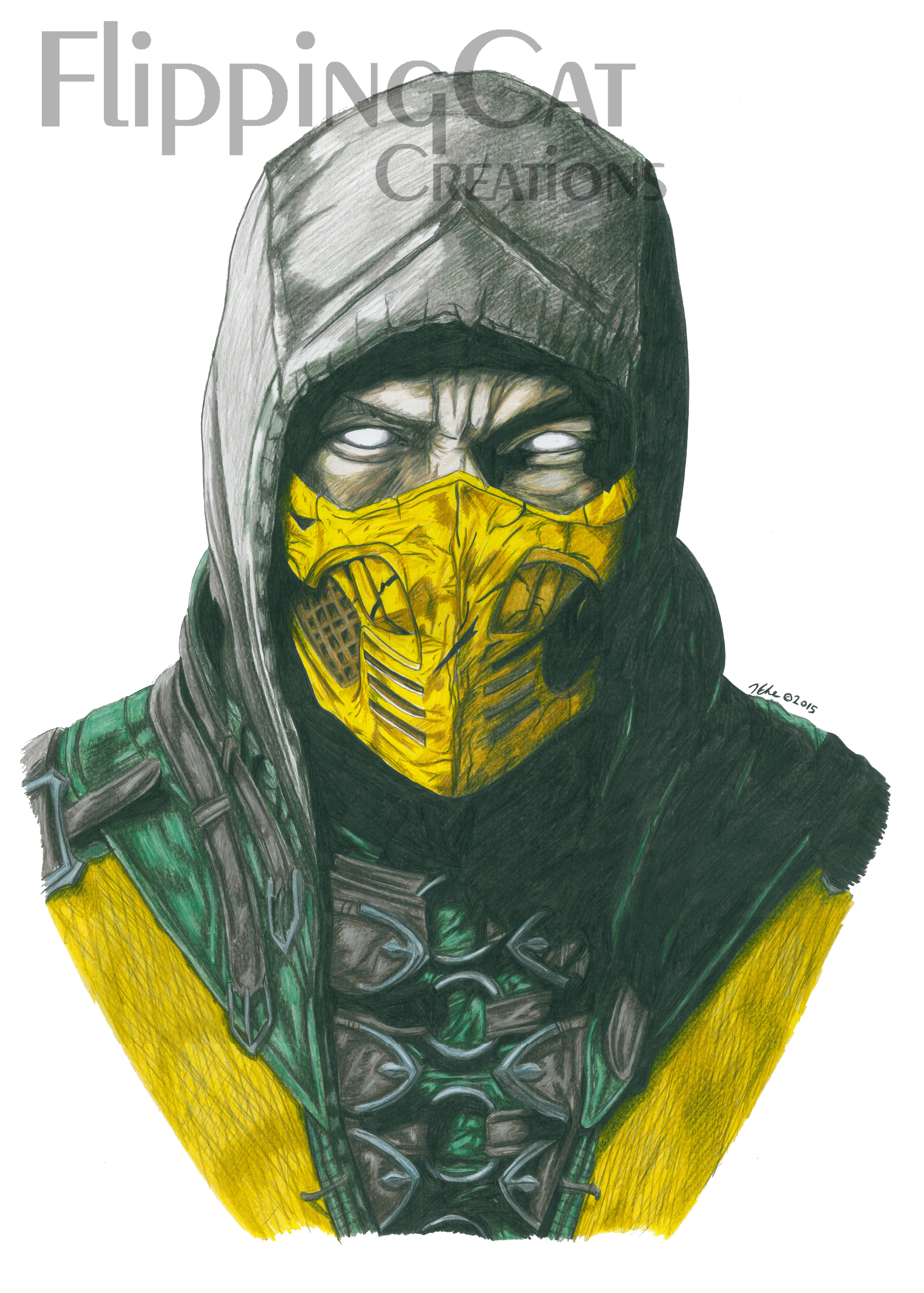 Scorpion Mortal Kombat X By Flippingcat On Deviantart