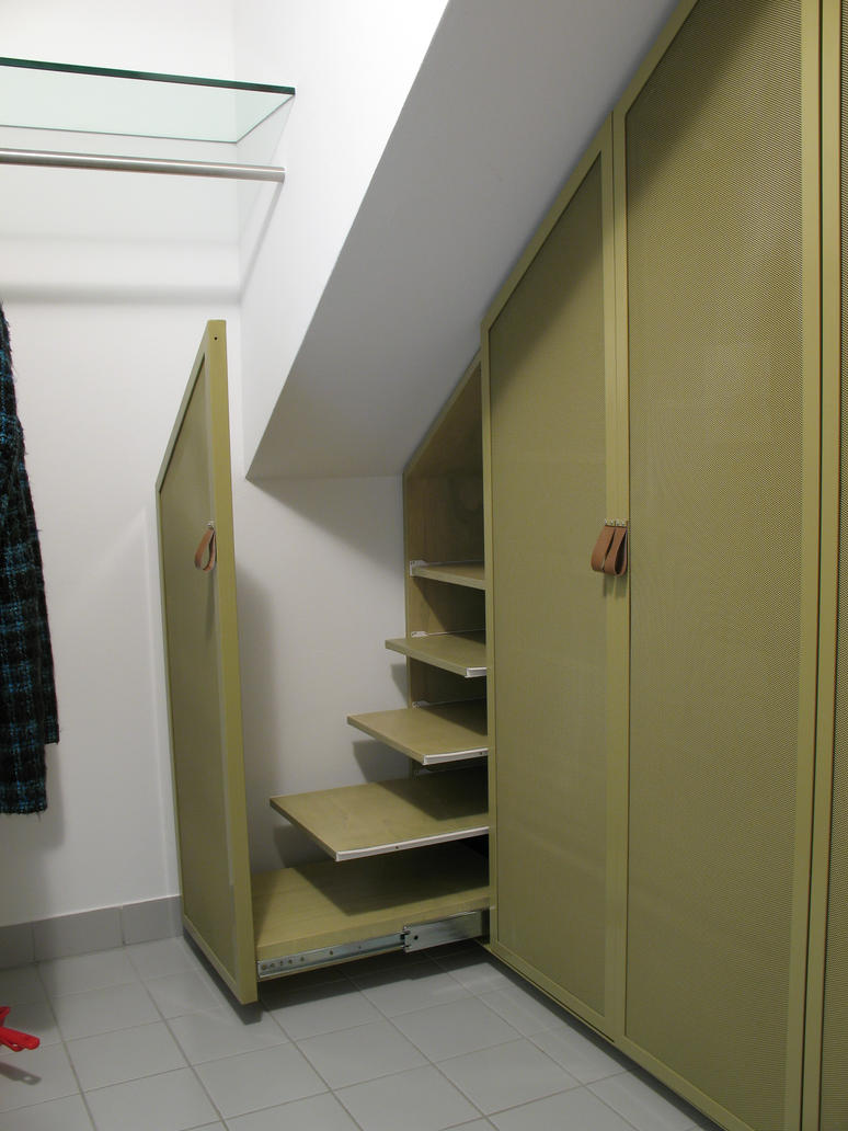 vorzimmer holz stahl 04 by moebelbau on deviantart. Black Bedroom Furniture Sets. Home Design Ideas