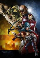 Avengers by madadman